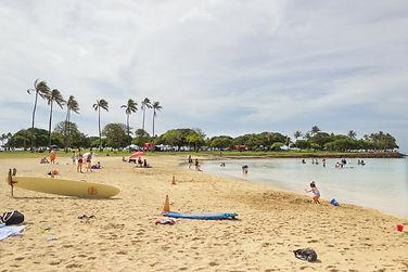 Ala Moana. Oahu, Hawaii.