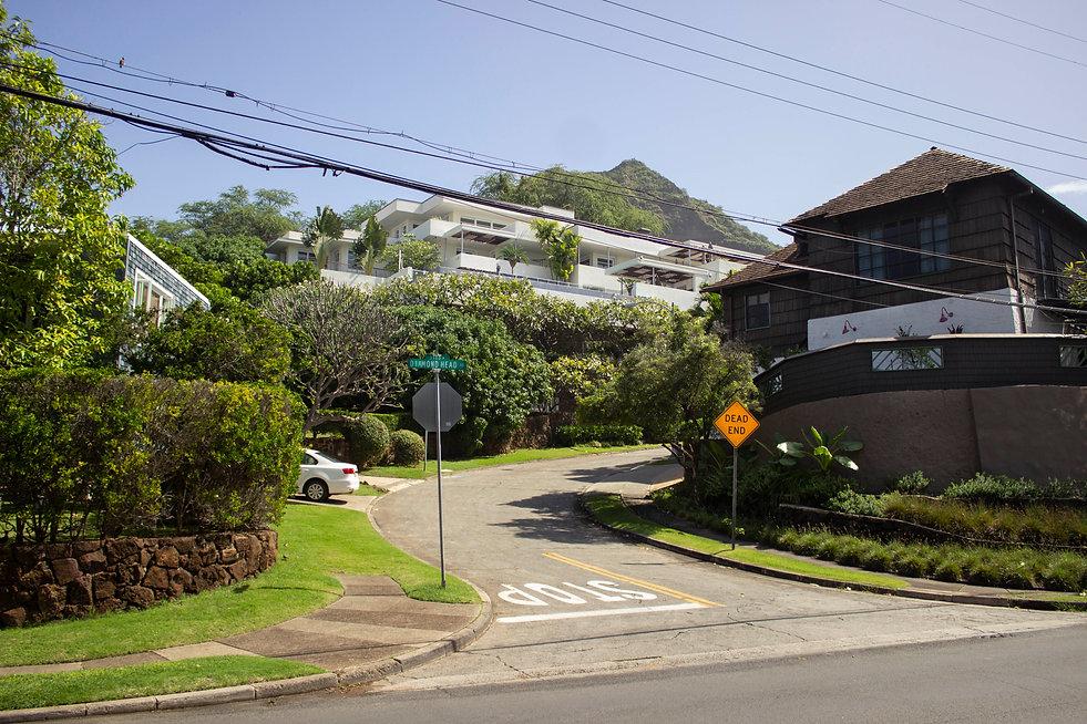Diamond Head. Oahu, Hawaii.