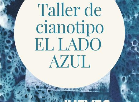 """Taller de Cianotipo """"El lado azul""""."""