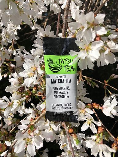 Matcha green tea with positive benefits available at Tatsu Tea