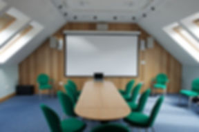 Audio visual meeting room venue hire Torridon
