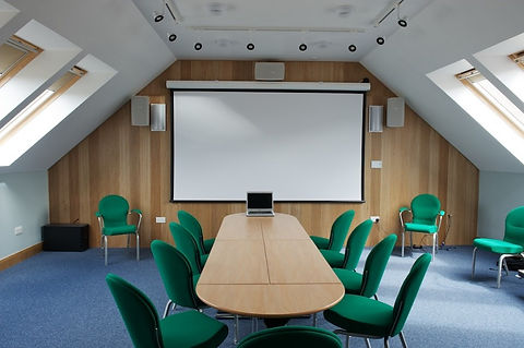 Audio visual meeting room venue hire Torridon