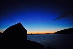 Diabaig pier sunset