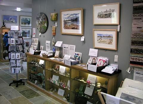 Gallery and artwork, Loch Torridon Community Centre, Torridon