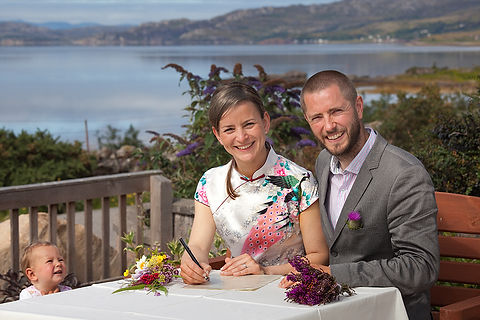 Highland Wedding Loch Torridon