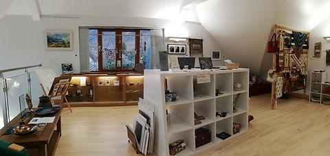 Gallery and artwork, Loch Torridon Community Centre