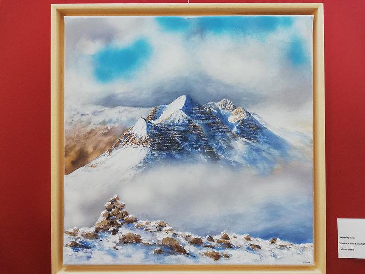 Liathach from Beinn Eighe - Winter