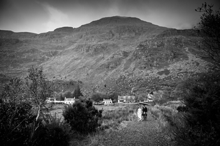 Torridon scenery as a backdrop to your wedding photos