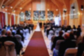 Highland Wedding ceremony, Main hall, Loch Torridon Community Centre