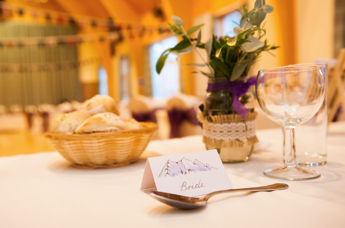 A Torridon wedding reception