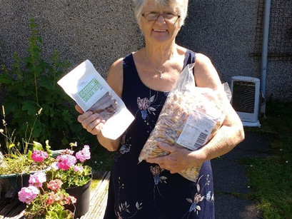 Step forward this weeks local heros: Maggie Smith (& Ruby) of Torridon