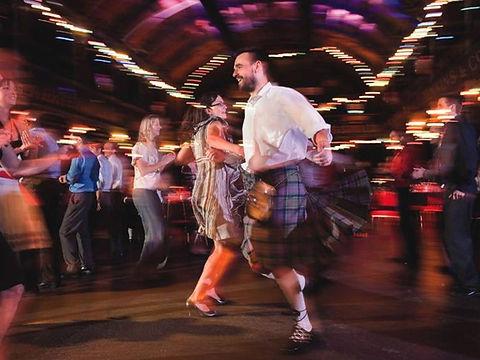 Highland wedding ceilidh dance, Loch Torridon