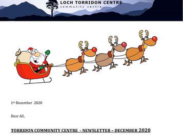 Torridon Community Centre Newsletter - December 2020
