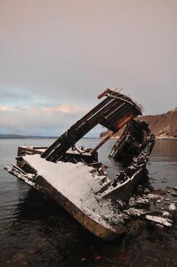 Dayspring shipwreck, Diabaig