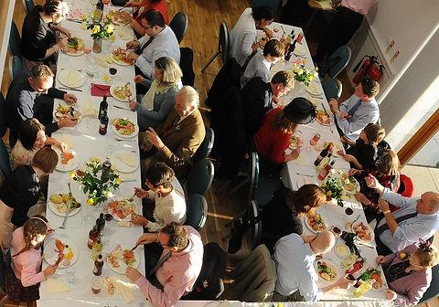 Highland wedding dining, Loch Torridon