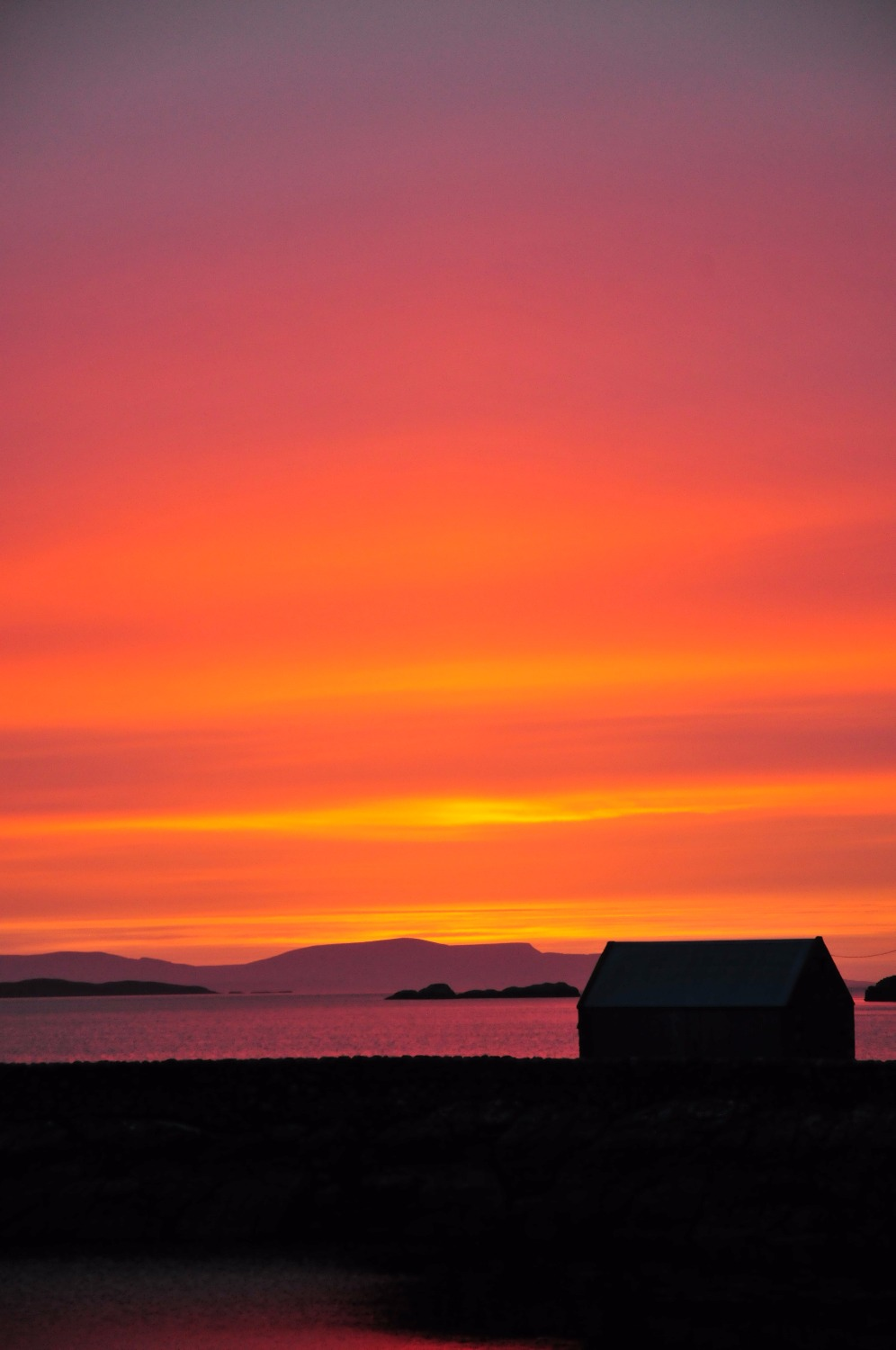 Diabaig Sunset