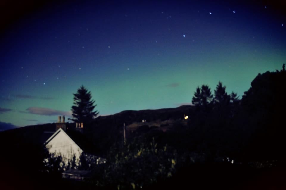 Aurora Borealis over Diabiag