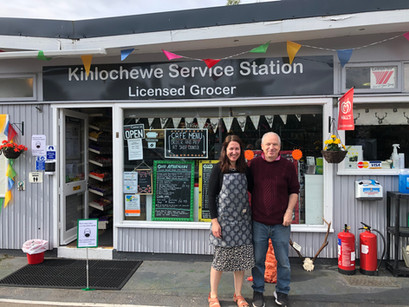 Your penultimate Local Heroes - Dave & Sharon, Kinlochewe