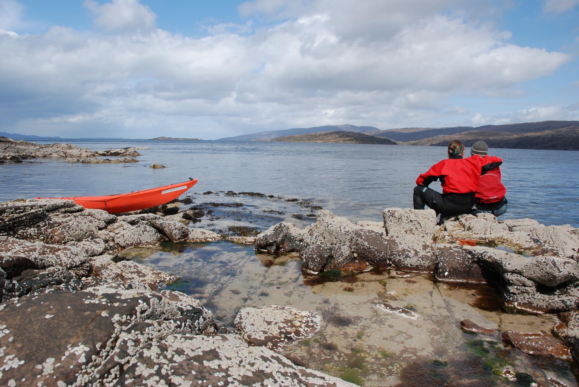 Kayaking, Torridon