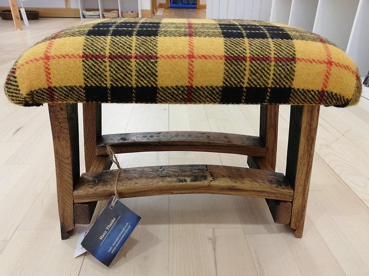 Harris Tweed Highland Stool