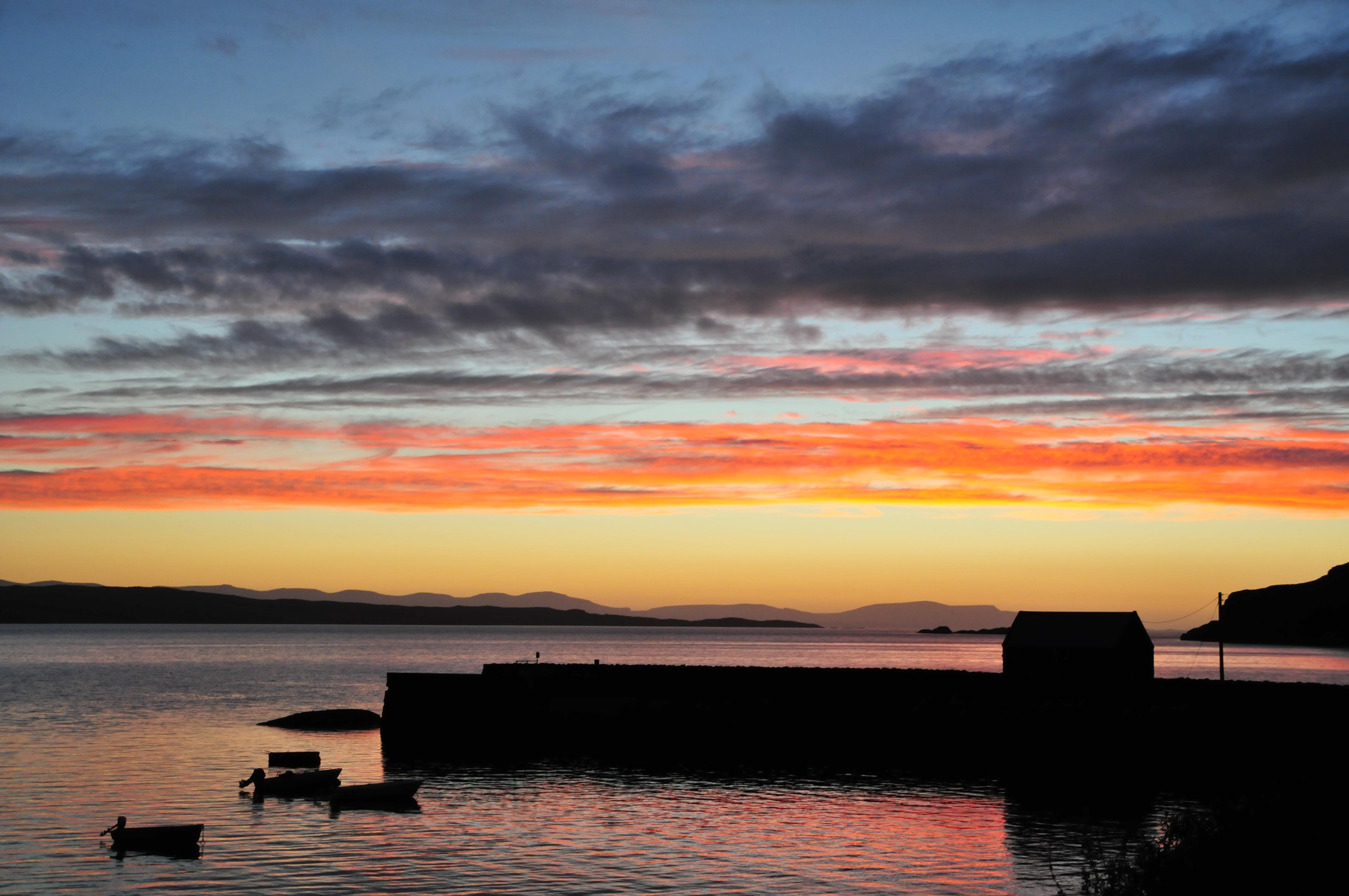 Sunset, Diabaig, Torridon
