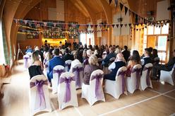 Wedding ceremony at Torridon