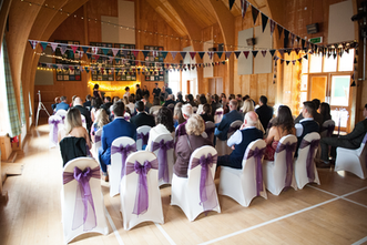 Wedding ceremony at Torridon