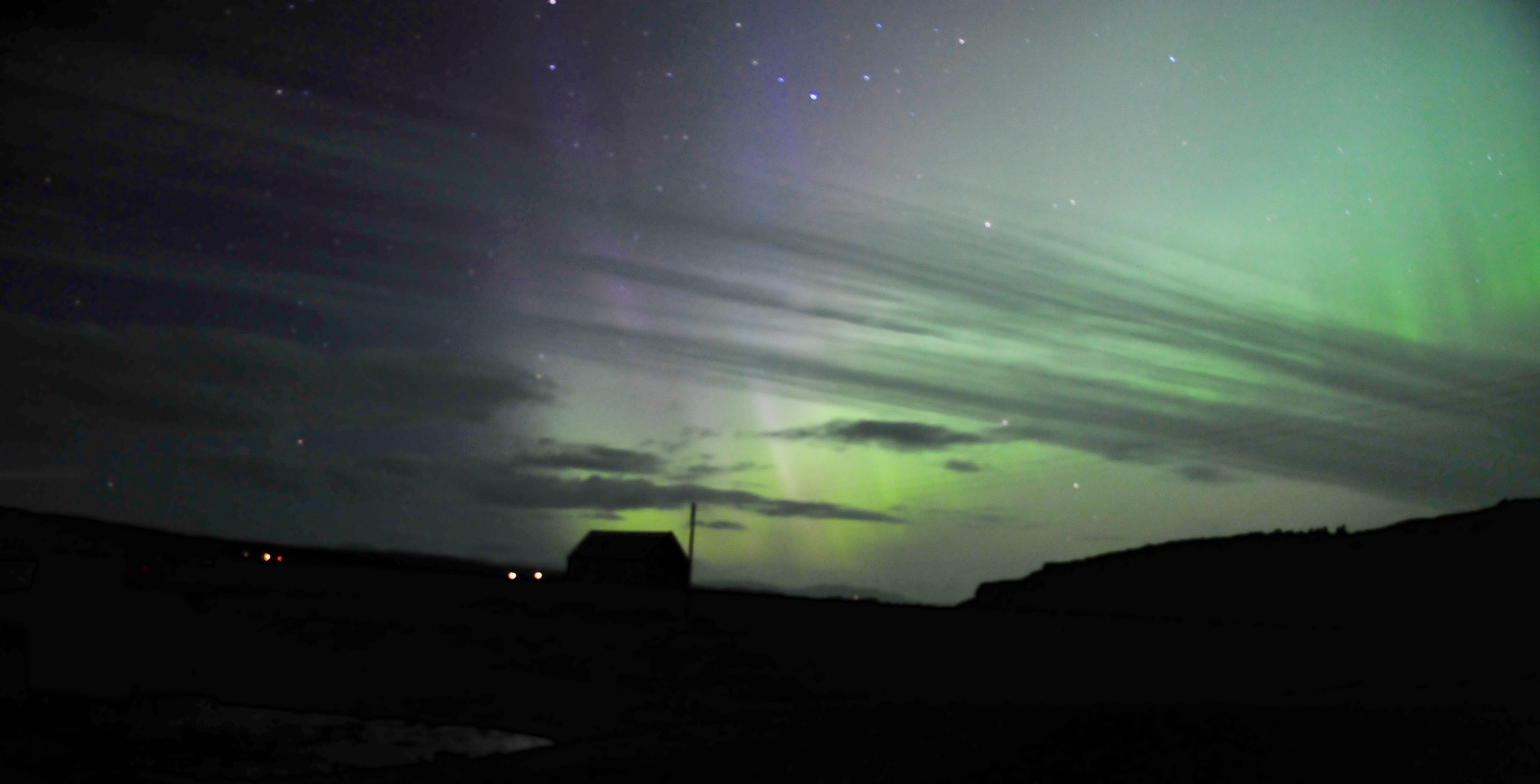 Northern Lights, Diabaig, Torridon