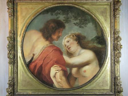 Vénus et Adonis, Suiveur de Rubens, Deuxième moitié Du 17ème.