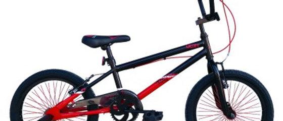 "2020 TIGER UCX1 18"" BMX BLACK/RED"