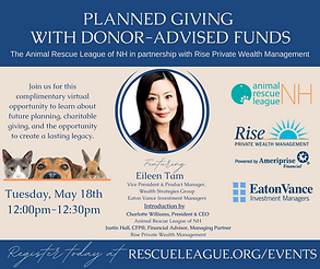 Planned Giving With Donor Advised Funds