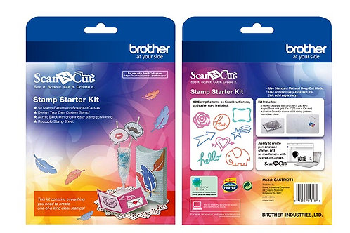 Brother Scan N Cut Stamp Starter Kit