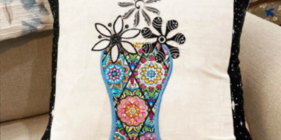 Floriani 2- Day, Hands On Embroidery Workshop: Embroidery, Education & FUN with Kathi Quinn!