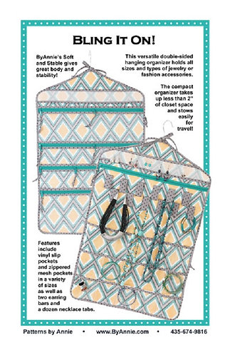 By Annie Pattern: Bling It On