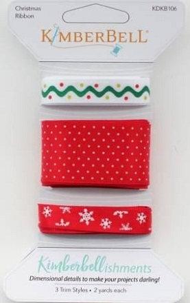 Kimberbell Kimberbellishments Christmas Ribbon Set