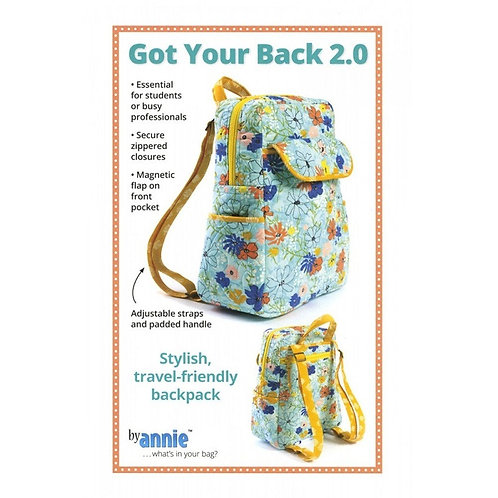 By Annie Pattern: Got Your Back 2.0