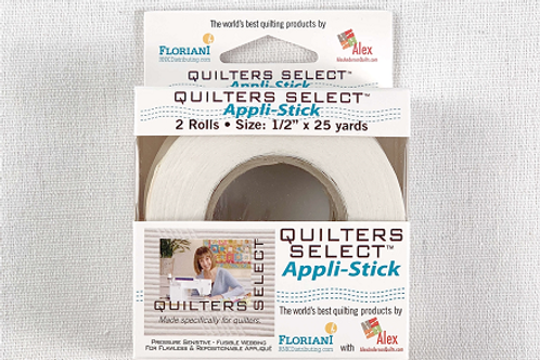 Quilters' Select Appli-Stick Tape (1/2 in x 25 yds)