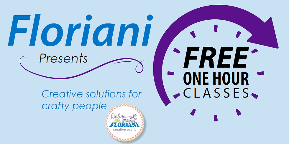 "VIRTUAL FREE ""Floriani Presents"" Creative Events"