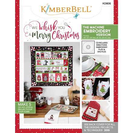 Kimberbell We Whisk You a Merry Christmas Embroidery CD