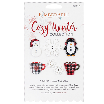 Kimberbell Cozy Winter Collection - Buttons