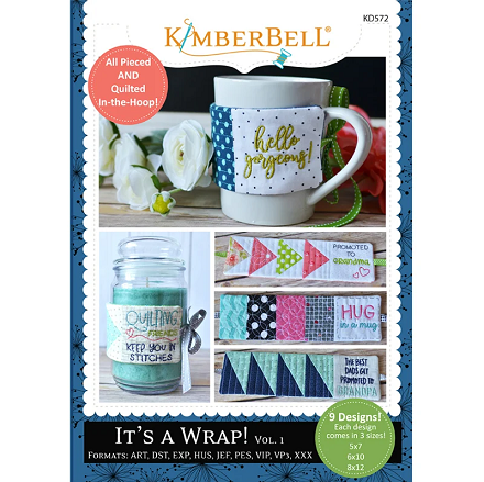 Kimberbell It's a Wrap Volume 1 Embroidery CD