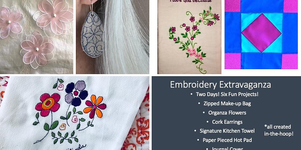 2-Day Embroidery Extravaganza with Milinda Stephenson!