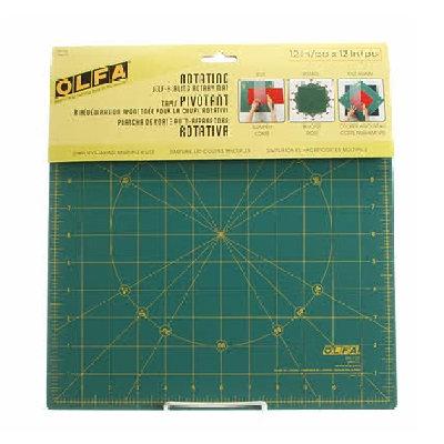 "Olfa Rotating Self-Healing Rotary Cutting Mat 12""x12"""