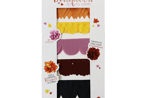 Kimberbell Bouquets: Fall Pull Flowers