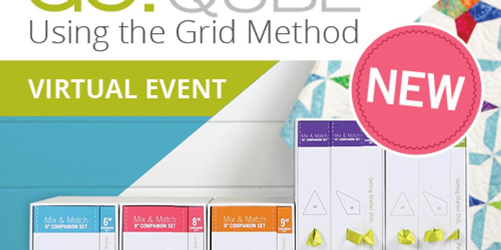 VIRTUAL FREE AccuQuilt Qube Grid Method Event