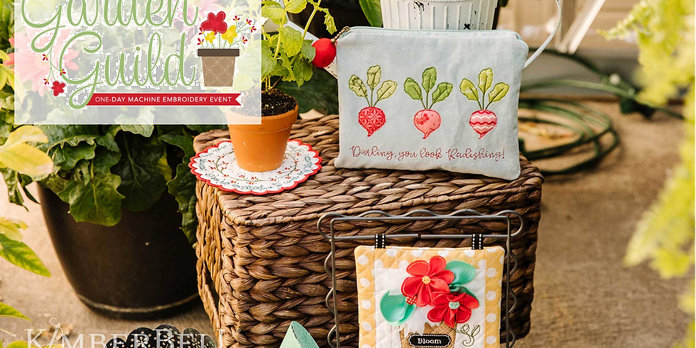 VIRTUAL Kimberbell Garden Guild 1-Day Embroidery Workshop