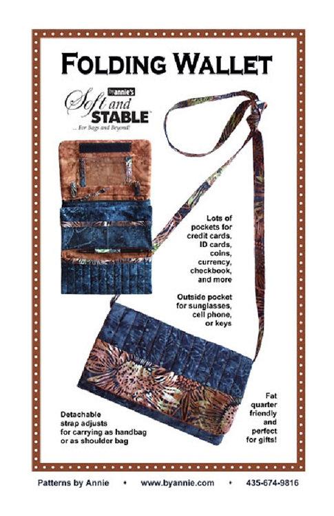 By Annie Pattern: Folding Wallet