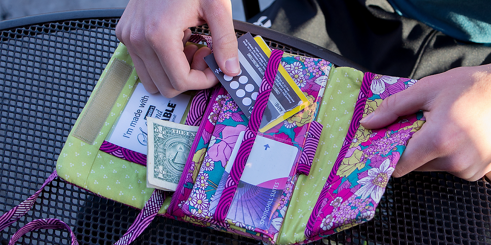BY ANNIE BAG OF THE MONTH! Folding Wallet