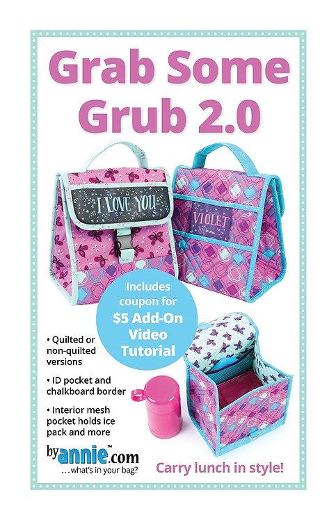 By Annie Pattern: Grab Some Grub 2.0