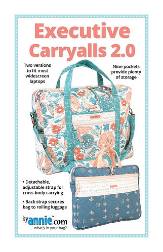By Annie Pattern: Executive Carryalls 2.0